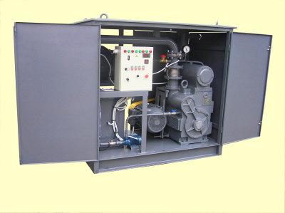 Установка для обработки трансформаторного (турбинного, индустриального) масла Блок БВ-1 (БПР)